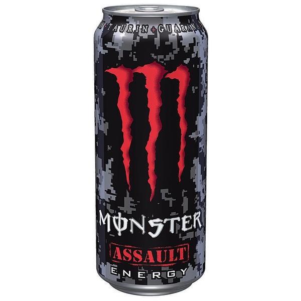 Monster Energy Drink Assault 500ml Dose