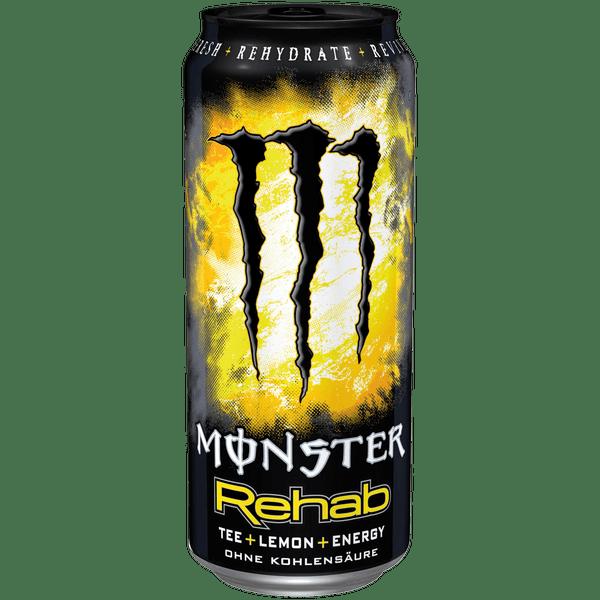 Monster Energy Drink Rehab Lemonade Tea 473ml Dose USA