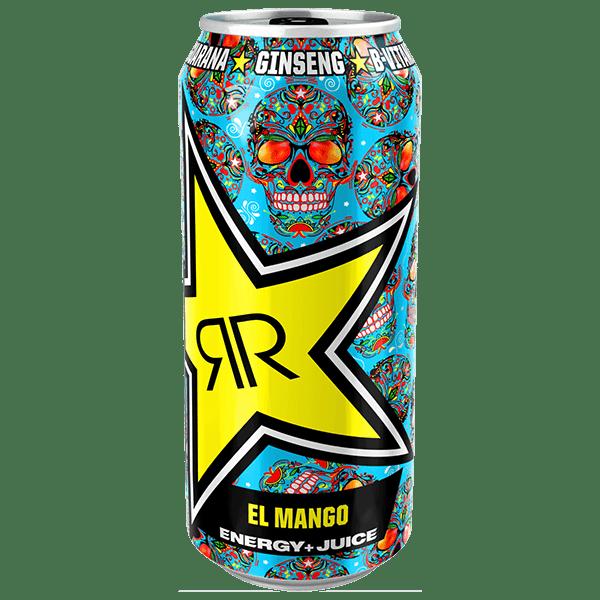 Rockstar Energy-Drink El Mango Energy + Juice 500ml Dose