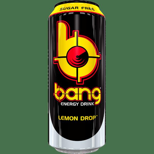 Bang Energy Drink Lemon Drop Sugar Free 500ml Dose