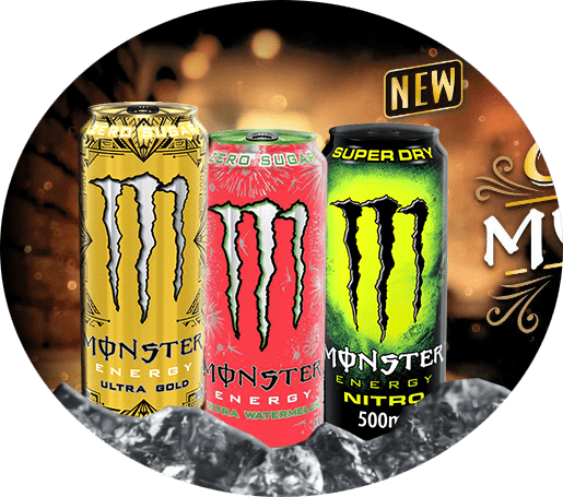 Neue Monster-Energy Drinks verfügbar